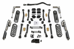 Teraflex 3.5in Alpine CT3 Short Arm Lift Kit - w/Falcon 3.1 Piggyback Shocks - JL 4dr