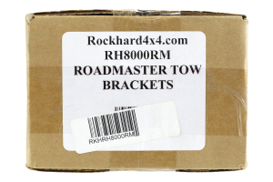 Rock Hard 4x4 Road Master Tow Bar Bracket Kit - JL/JK/LJ/TJ/XJ/YJ