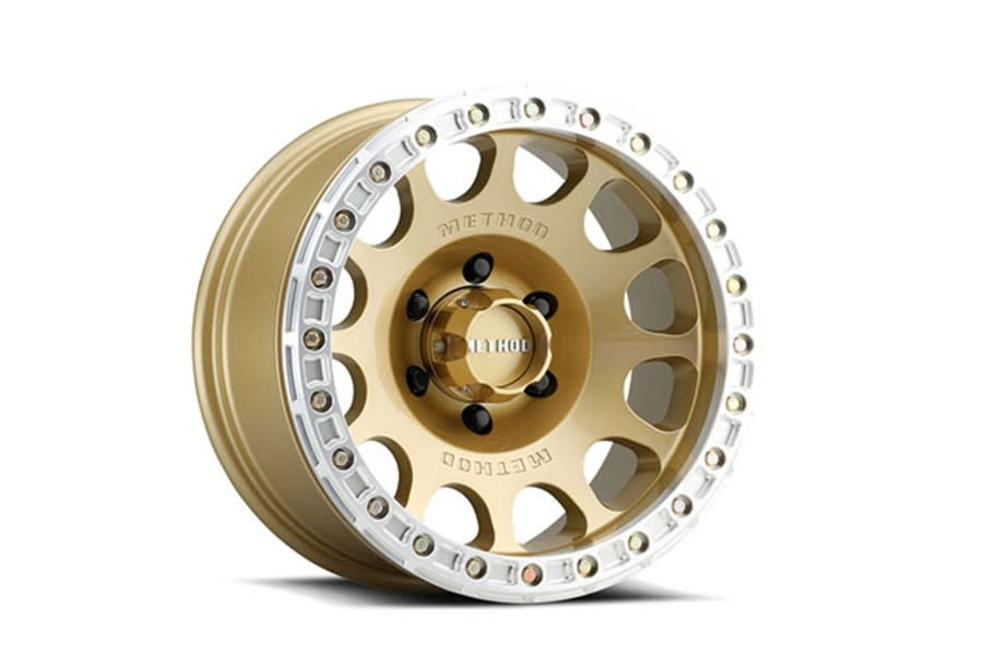 Method Race Wheels 105 V31 Gold Wheel 17x9 8x6.5