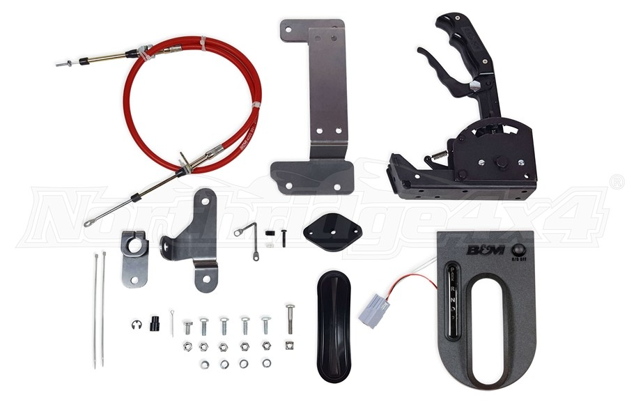 B&M Racing Magnum Grip Pro Stick Automatic Console Shifter - JK 2007-10