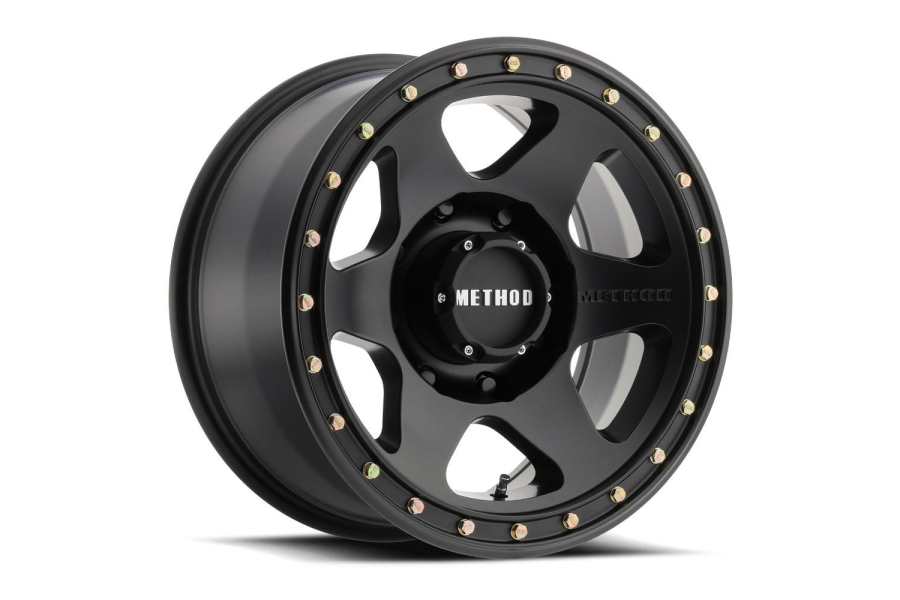 Method Race Wheels MR310 Con 6 Series Wheel, Matte Black 17x8.5 5x5 - JT/JL/JK
