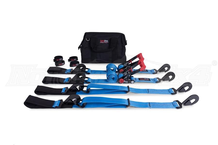 SpeedStrap Essential Off-Road 2in Tie-Down Kit, Blue  (Part Number:71642)