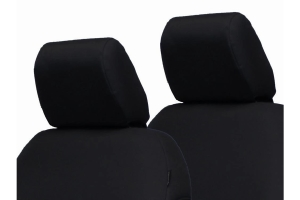 Bartact Rear Bench Headrest Covers, Pair - Black - JL 2Dr