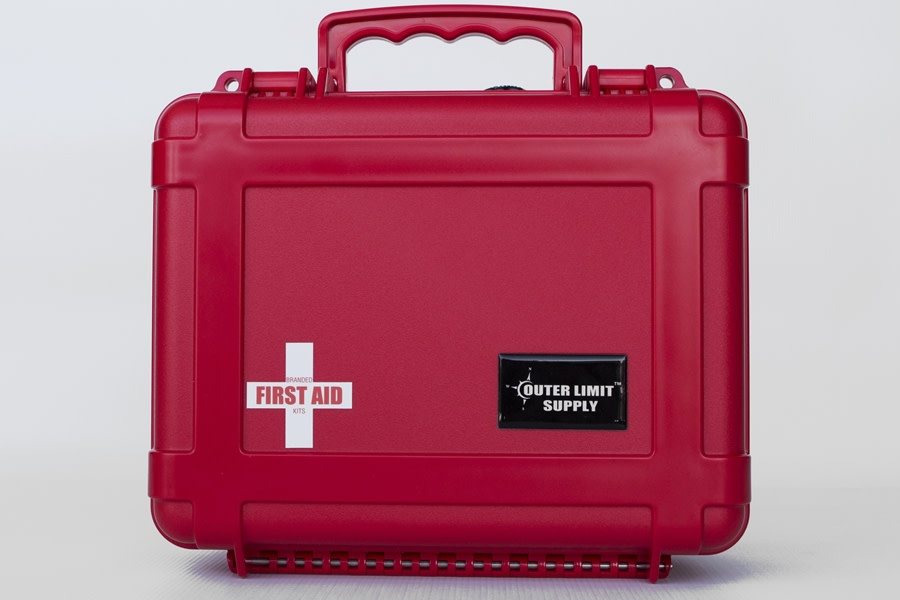 Outer Limit Supply Waterproof 6500 Series First Aid Kit