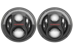 JW Speaker 8700 Evolution J2, Black Bezel Headlight Kit ( Part Number: 0554543)