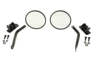 Rugged Ridge Quick Release Mirror Relocation Kit Black - JK/LJ/TJ