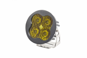 Diode Dynamics SS3 Pro, Round - Driving, Yellow