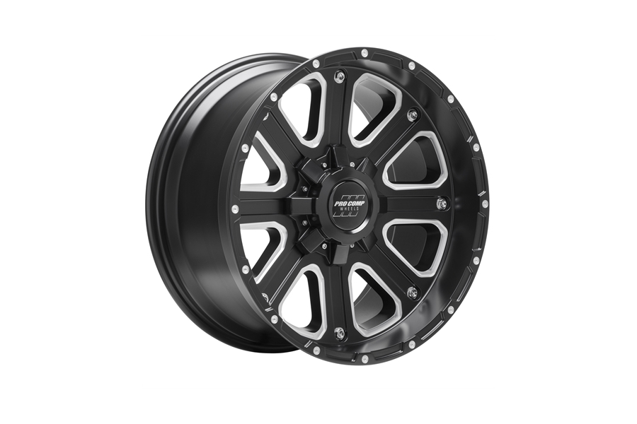 Pro Comp 72 Series Axis Wheel Satin Black 17x9 5x5/5x5.5 (Part Number:5172-7905)