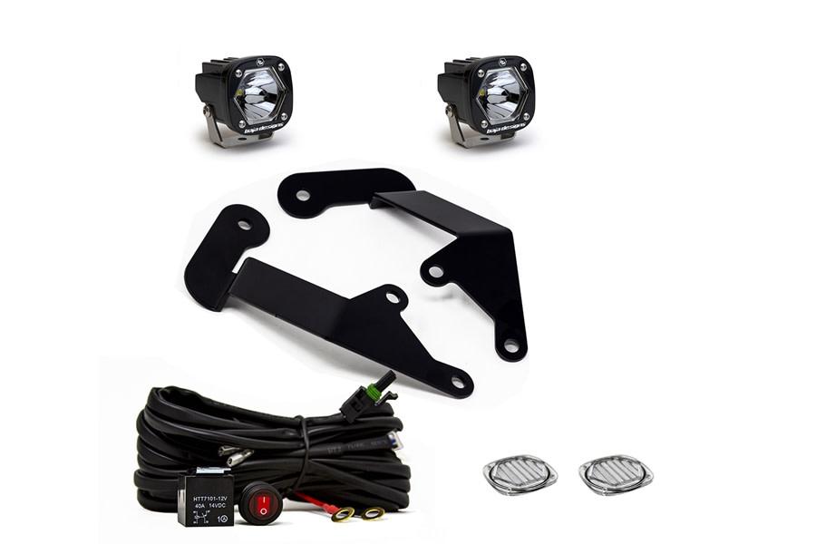 Baja Designs S1 Series A-Pillar Kit - Clear  - Bronco Sport