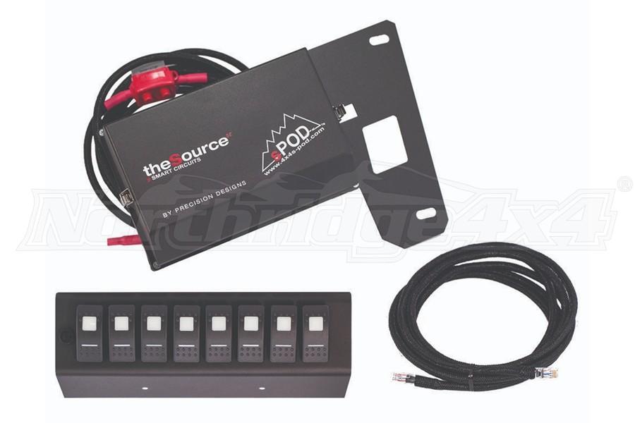 SPOD SE 8-Circuit Switch Panel System Amber - JK 2009+
