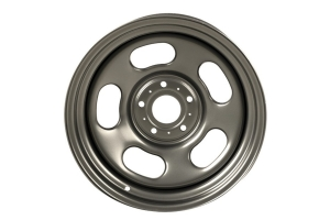 Rugged Ridge Trail Runner Classic Wheel 17x9 5x5, Gun-Metal  - JT/JL/JK