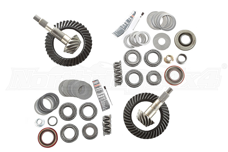 Rugged Ridge Ring/Pinion Kit, Front Dana 30 Rear Dana 35, 4.10 Ratio  (Part Number:360023)