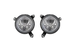 VSX 7in LED Headlight Kit- Black Chrome - JT/JL