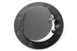 Rugged Ridge Non-Locking Textured Black Gas Cap Door (Part Number: )