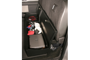 Tuffy Security Under Rear Seat Lockbox w/o Subwoofer (Part Number: )