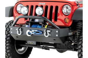 Rock Hard 4x4 Patrior Series Aluminum Front Bumper w/Lowered Winch Plate (Part Number: )