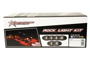 Rigid Industries A-Series Rock Light Kit Cool White