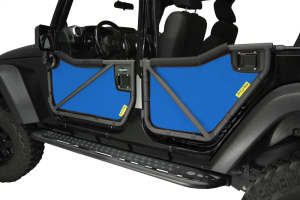Dirty Dog 4x4 Rancho Tube Door Screens Blue (Part Number: )