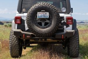 ARB Rear Bumper, Textured Black - JL