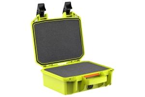 Pelican V100C Vault Small Equipment Case w/ Foam Insert - Bright Green