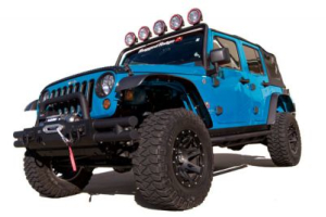 Rugged Ridge All Terrain Flat Fender Kit - JK
