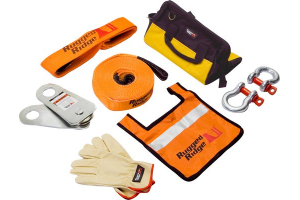 Rugged Ridge HXD 30,000lbs Recovery Gear Kit   (Part Number: )