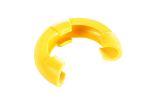Rugged Ridge D-Shackle Isolator 3/4 Inch Kit, Yellow Pair