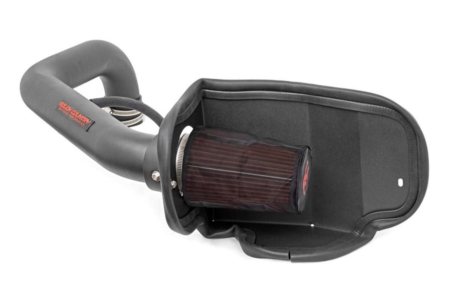 Rough Country Cold Air Intake System w/ Pre-Filter Bag  - TJ 4.0L