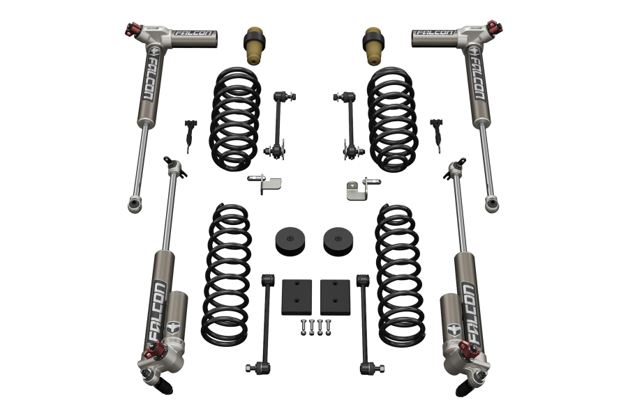 Teraflex 1.5in Sport ST1 Suspension System w/ 3.3 Falcon Shocks - JK 4dr