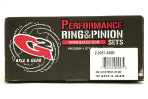G2 Axle & Gear Dana 44 4.88 Front Ring and Pinion Set (Part Number: )