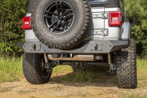 Rugged Ridge Spartan Full Width Rear Bumper  - JL