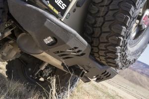 Aries Trail Chaser Rear Bumper - JK