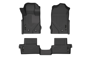 Husky Liners Weatherbeater Front and 2nd Seat Floor Liner Set - Ford Bronco 2Dr