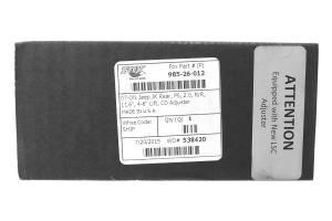 Fox 2.0 Performance Series External Reservoir Shock Rear 4-6in Lift  - JK