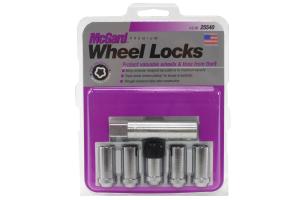 McGard  5-Lock Tuner Style Wheel Lock Set Set 1/2-20in Chrome (Part Number: )