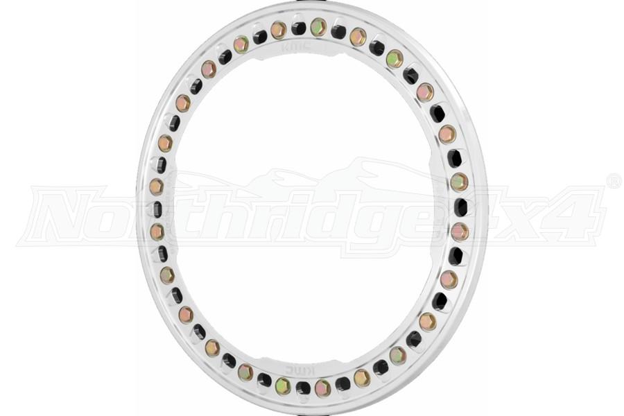 KMC Wheels 17in Beadlock Ring - Machined
