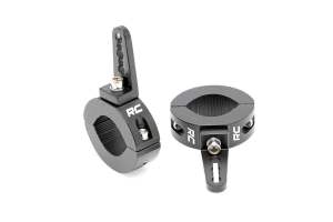 Rough Country Universal Adjustable 1.65-2in Tube Mounting Clamps (Part Number: )