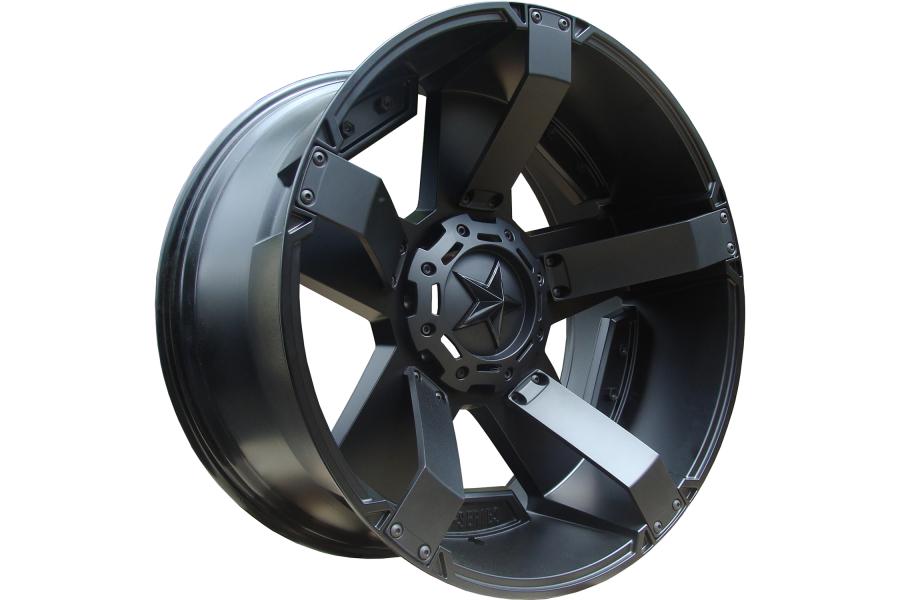 XD Wheels Rockstar II Series Wheel Matte Black 17x9 5x5 - JT/JL/JK