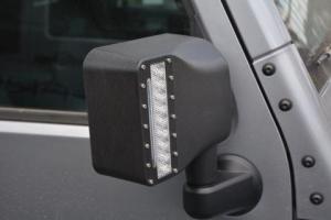 DV8 Offroad LED Mirror Housing w/Turn Signal Option - JK