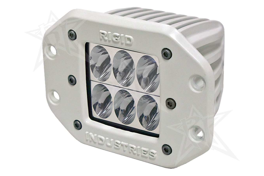Rigid Industries M-Series Dually D2 Flush Mount Driving (Part Number:711313)