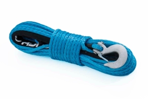Rough Country Synthetic Winch Rope Blue (Part Number: )