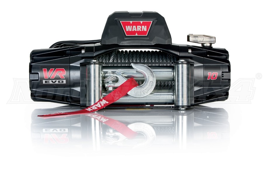 Warn VR EVO10 Winch w/ Steel Cable