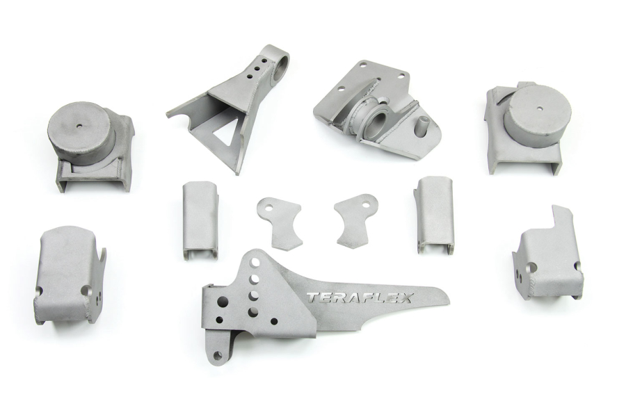 Teraflex Front CRD60 Axle Bracket Kit (Part Number:3990700)