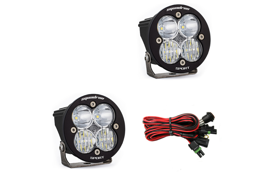 Baja Designs Squadron-R Sport Driving/ Combo LED Lights, Pair  (Part Number:587803)