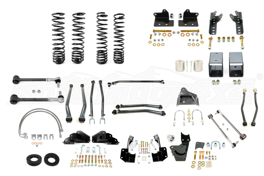 Synergy Manufacturing 3in Suspension System Lift Kit, Stage 4 - JK 4DR