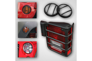 Rugged Ridge Euro Guard Light Kit  - JK