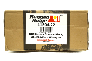 Rugged Ridge RRC Rock Sliders Black (Part Number: )