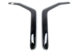 WeatherTech Front Side Window Deflectors Dark (Part Number: )