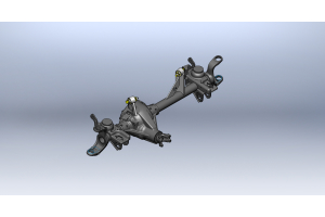 Clayton Front Axle Upper Control Arm Mount Kit   (Part Number: )