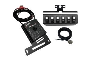 sPOD Source LT w/ LED Switch Panel - Blue - JK 2007-08